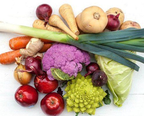 Groenten en afvallen